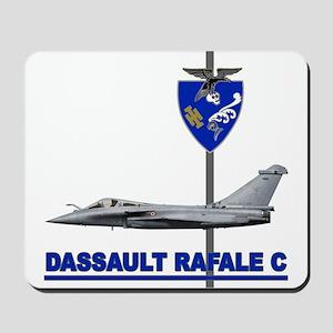 LIBYA_FRANCE_RAFALE_DASSAULT Mousepad