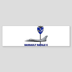 LIBYA_FRANCE_RAFALE_DASSAULT Bumper Sticker