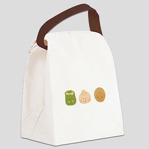 Dim Sum Border Canvas Lunch Bag