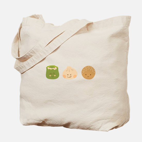 Dim Sum Border Tote Bag