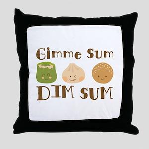 Gimme Sum Throw Pillow