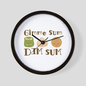 Gimme Sum Wall Clock