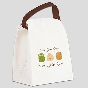 Dim Sum Lose Sum Canvas Lunch Bag