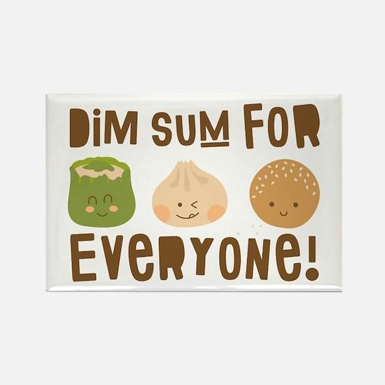 Dim Sum Everyone Magnets