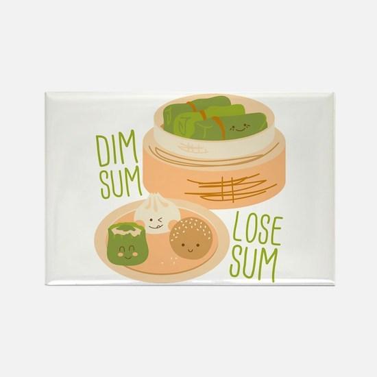 Dim Sum Lose Sum Magnets