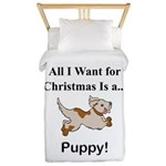 Christmas Puppy Twin Duvet