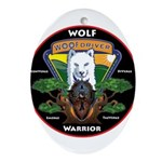 WolFWarrior TaeVerge Ornament (Oval)