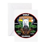 WolFWarrior TaeVerge Greeting Cards
