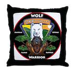 WolFWarrior TaeVerge Throw Pillow