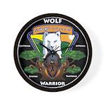 WolFWarrior TaeVerge Wall Clock