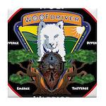 WolFWarrior TaeVerge Tile Coaster