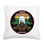 WolFWarrior TaeVerge Square Canvas Pillow