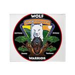 WolFWarrior TaeVerge Throw Blanket