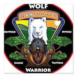 WolFWarrior TaeVerge Square Car Magnet 3
