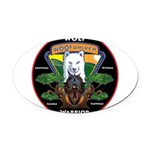 WolFWarrior TaeVerge Oval Car Magnet