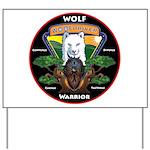 WolFWarrior TaeVerge Yard Sign