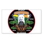 WolFWarrior TaeVerge Sticker
