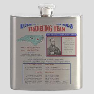 BATTLE OF BENTONVILLE UNION FORCES U.S. CIVI Flask