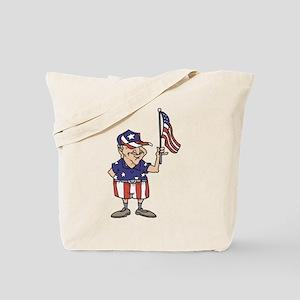 Old American Dude Tote Bag