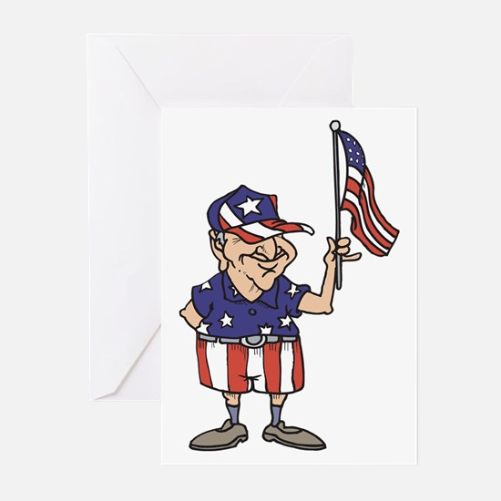 Old American Dude Greeting Cards (Pk of 10)