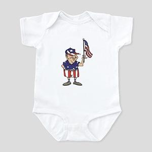 Old American Dude Infant Bodysuit