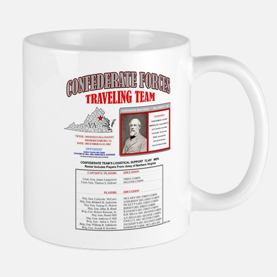 BATTLE OF FREDERICKSBURG, VIRGINIA, CONFEDERA Mugs