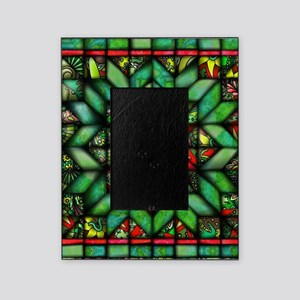 All-over Green Quilt Picture Frame