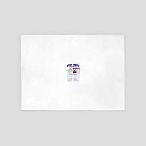 BATTLE OF FREDERICKSBURG, UNION FOR 5'x7'Area Rug