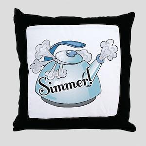 Simmer (Down Now) Throw Pillow