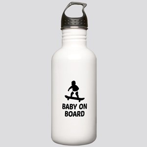 Baby On Board Pun Stainless Water Bottle 1.0L