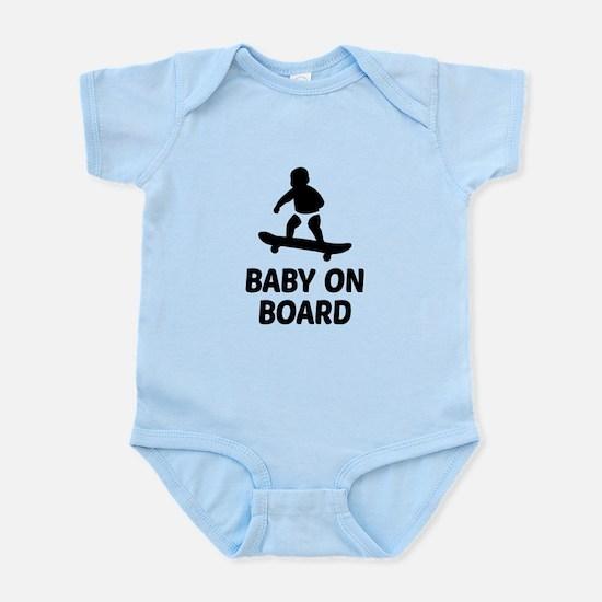 Baby On Board Pun Infant Bodysuit