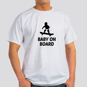 Baby On Board Pun Light T-Shirt