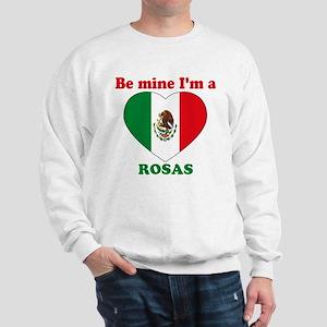 Rosas, Valentine's Day Sweatshirt