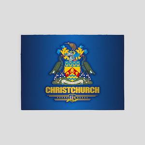 Christchurch NZ 5'x7'Area Rug