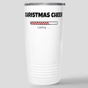 Christmas Cheer Loading Stainless Steel Travel Mug