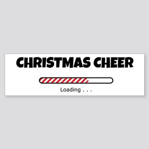 Christmas Cheer Loading Sticker (Bumper)