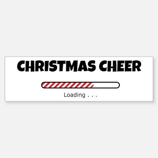 Christmas Cheer Loading Sticker (Bumper)