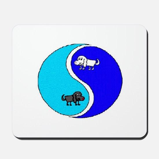YIN/YANG DOGGIES Mousepad