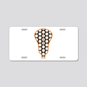 LAX Stick Head Aluminum License Plate