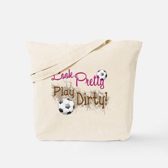 Dirty Soccer Tote Bag