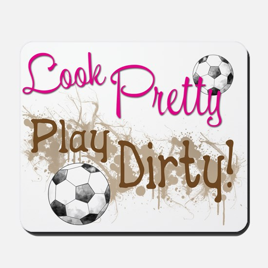 Dirty Soccer Mousepad