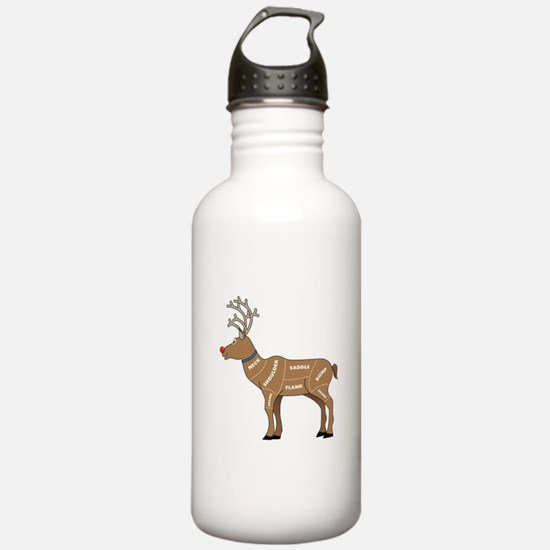 Rudolph - Reindeer Mea Water Bottle