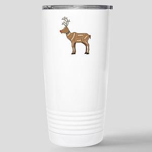 Rudolph - Reindeer Meat Stainless Steel Travel Mug