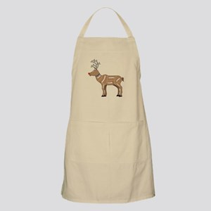 Rudolph - Reindeer Meat for Christmas Apron