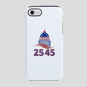 25th Amendment the 45th Presid iPhone 7 Tough Case