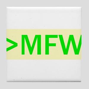 MFW Tile Coaster