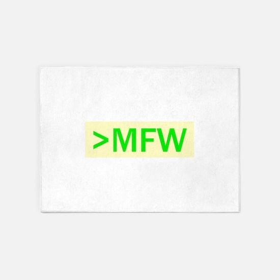 MFW 5'x7'Area Rug
