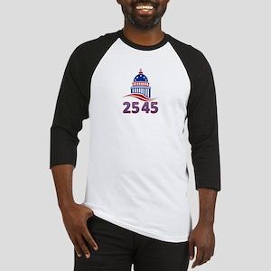 25th Amendment the 45th President Baseball Tee