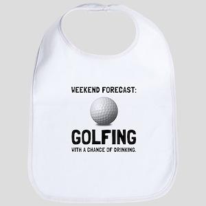 Weekend Forecast Golfing Bib