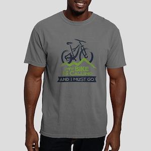 My Bike Is Calling Mens Comfort Colors Shirt